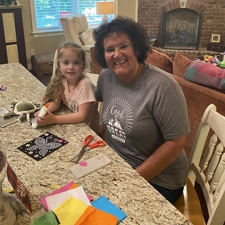 Crafts at home with EvaKate